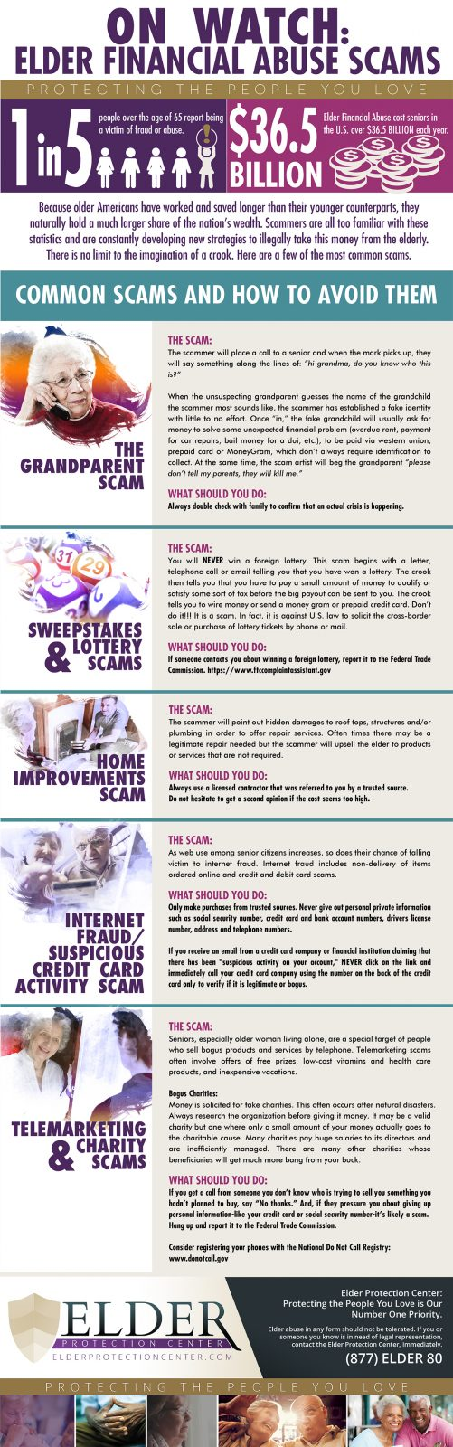 Common Elder Scams: Infographic-web